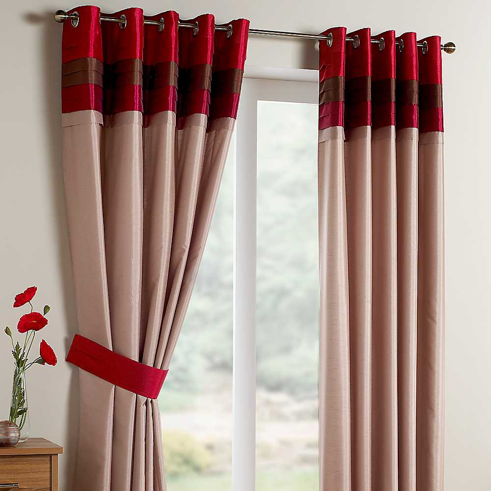 beautiful long drapes