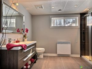 Big window for bathroom