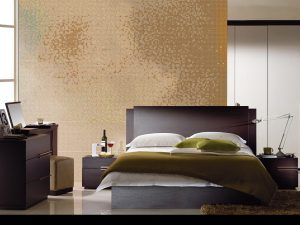 Bed mosaic tiles