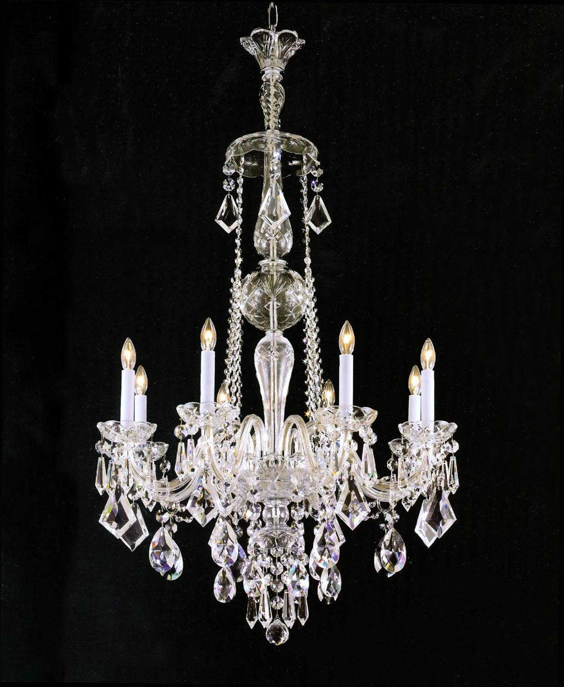 Chandeliers for your home interior design paradise crystal chandelier aloadofball Image collections