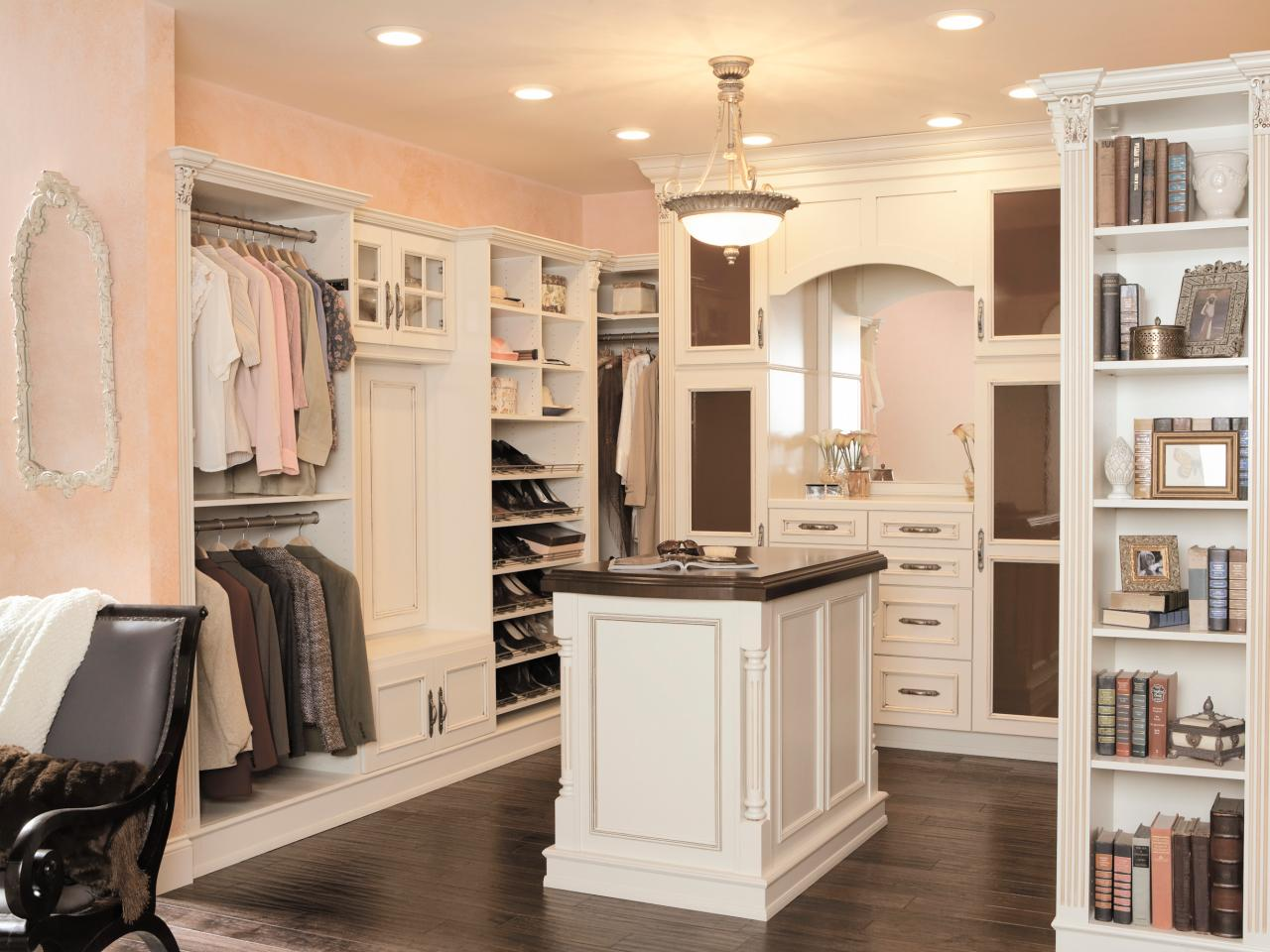 walk-in closet custom made