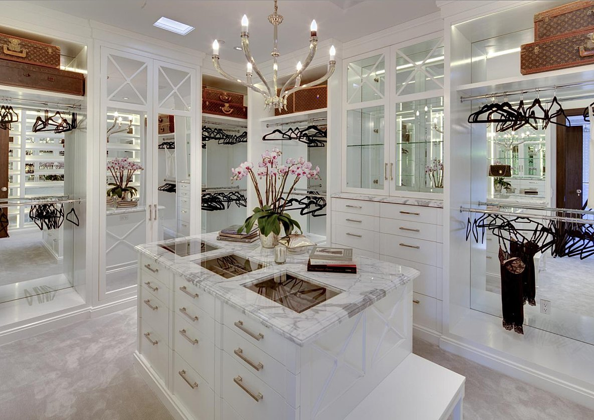 Best Walk In Closets walk-in closet in all its glory | interior design paradise