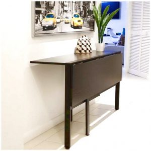Folded-dining-table