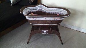 Babies cute cradle