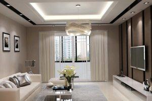 Modern chandelier for living room