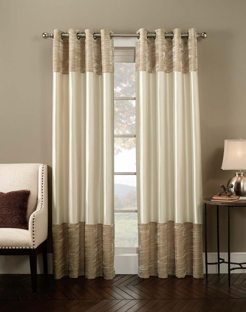 Curtains for every room interior design paradise for Interior design curtains