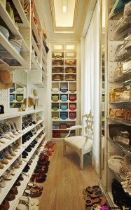 Walk in closet ideas small spaces