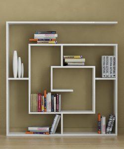 Decorative square book storage