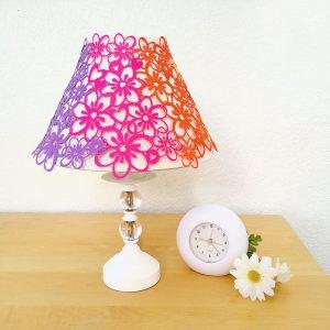 Pretty flower lampshade