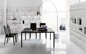 Awesome modern office shelves