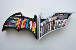 Batman bookshelves design