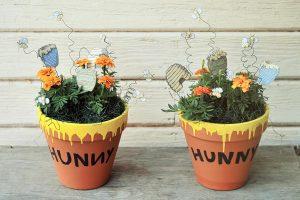 honey flower pot