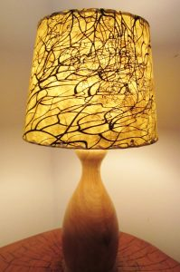 Art lampshade