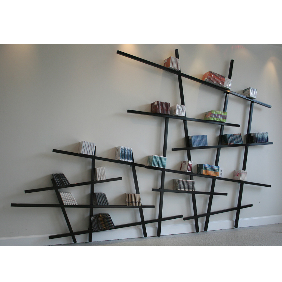 Mikado bookshelf design
