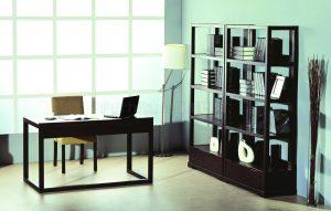 Office bookshelves
