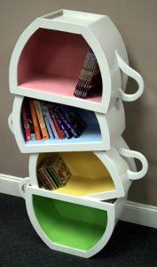 Coffee bookshelves
