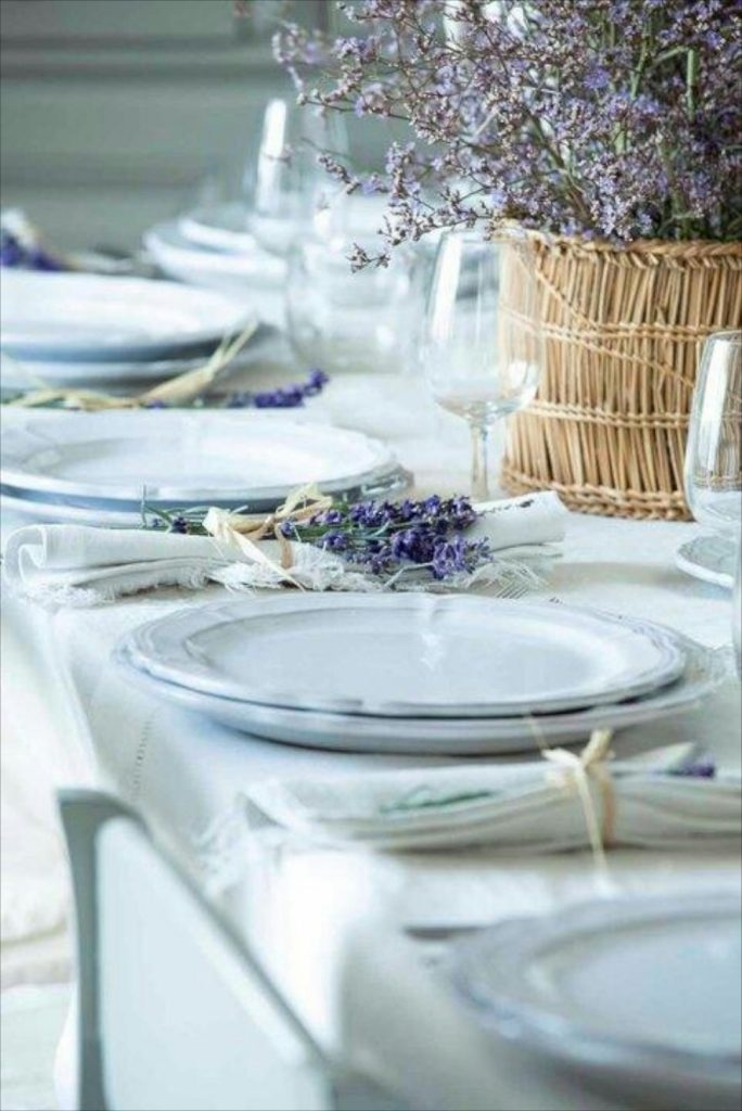 Decoration with lavander