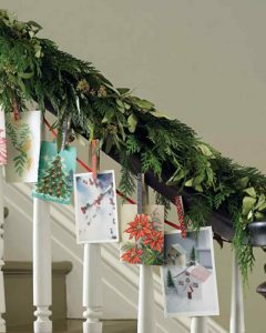 christmas-cards-on-stairs