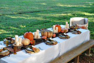 outdoor thanksgiving