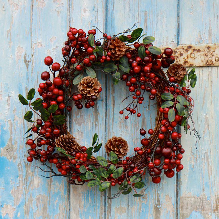 exquisite christmas wreath