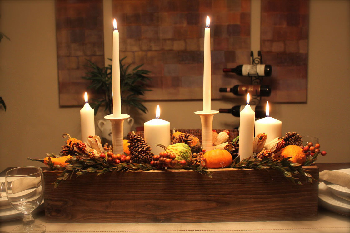 Thanksgiving Day Centerpiece