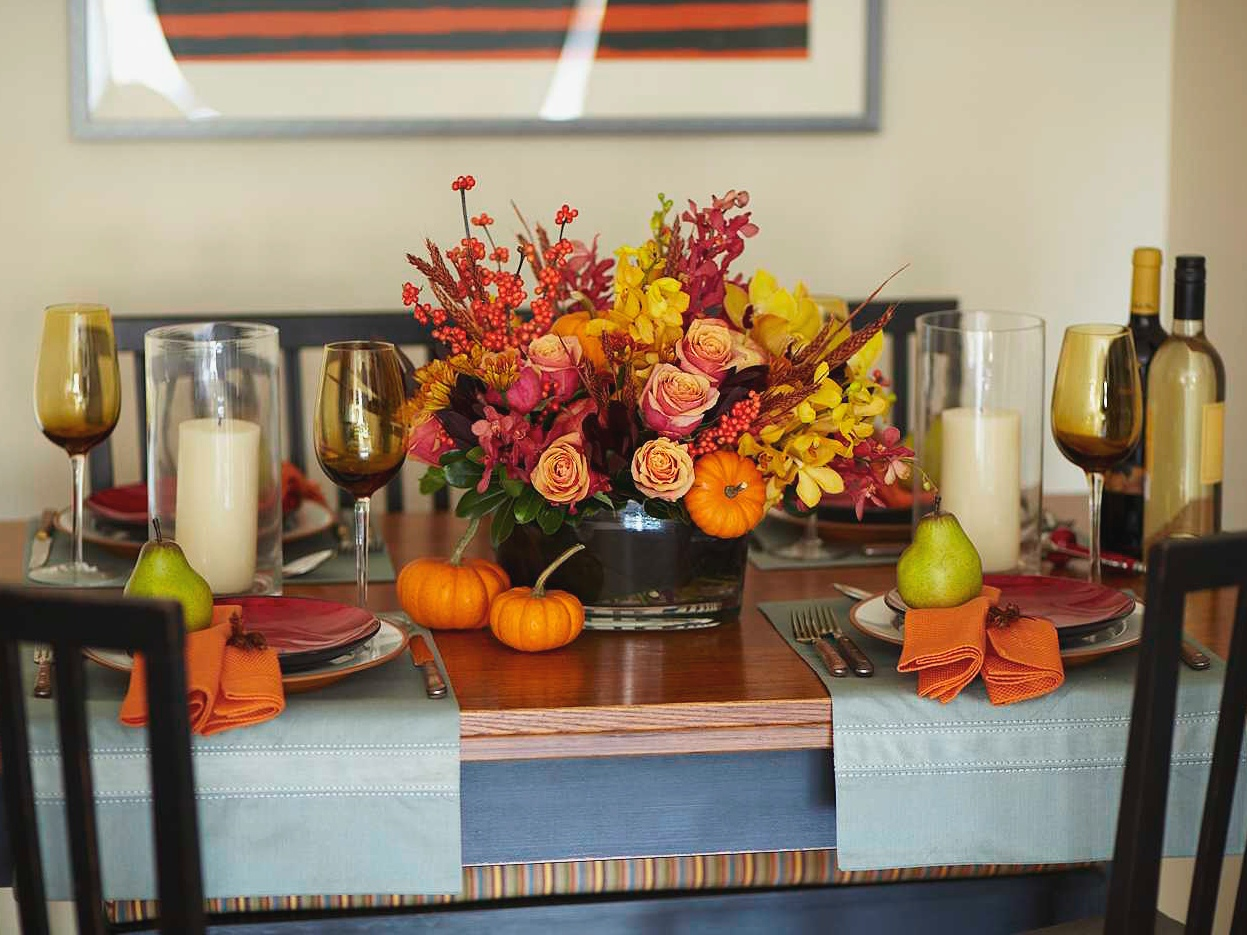 Decorating Thanksgiving table tips and tricks | Interior ...