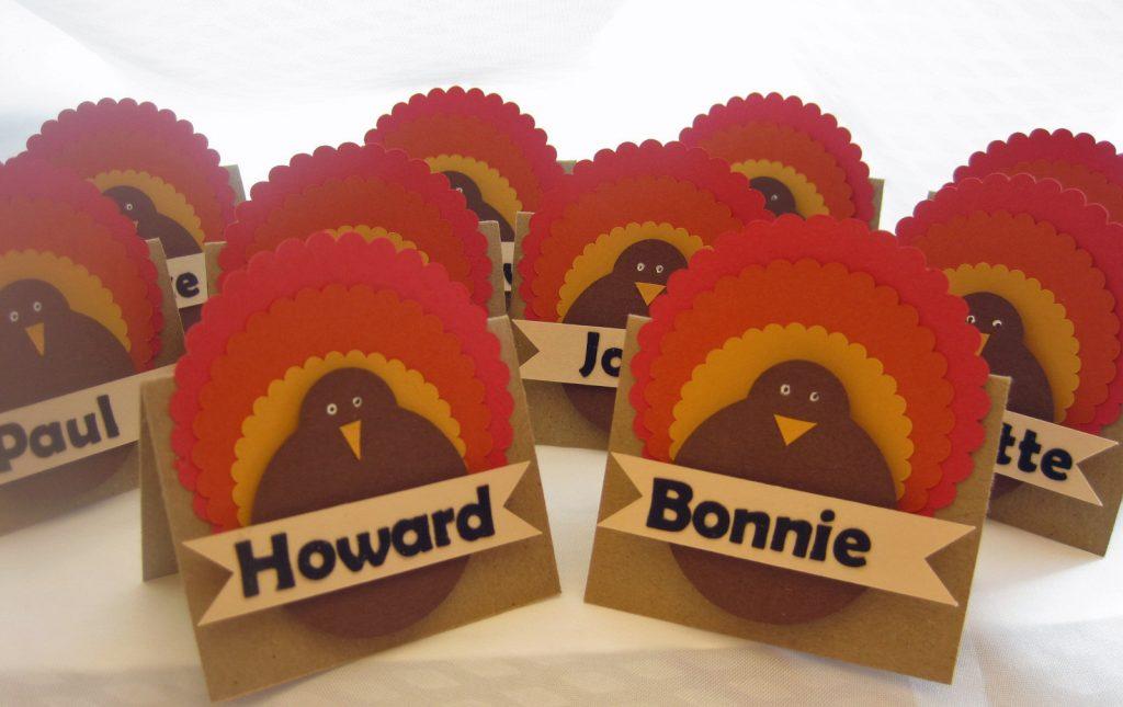 Thanksgiving namecards