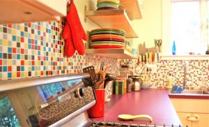 Best colorful kitchen design
