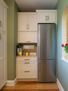 Slimline skinny fridge