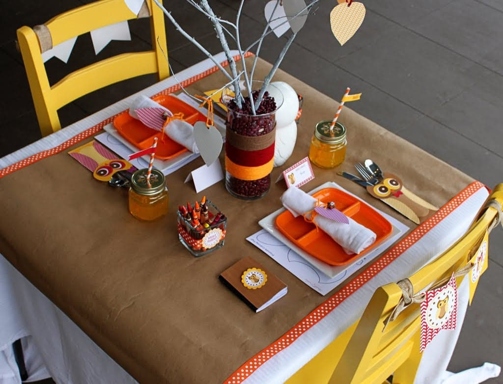 decorating thanksgiving table tips and tricks | interior design