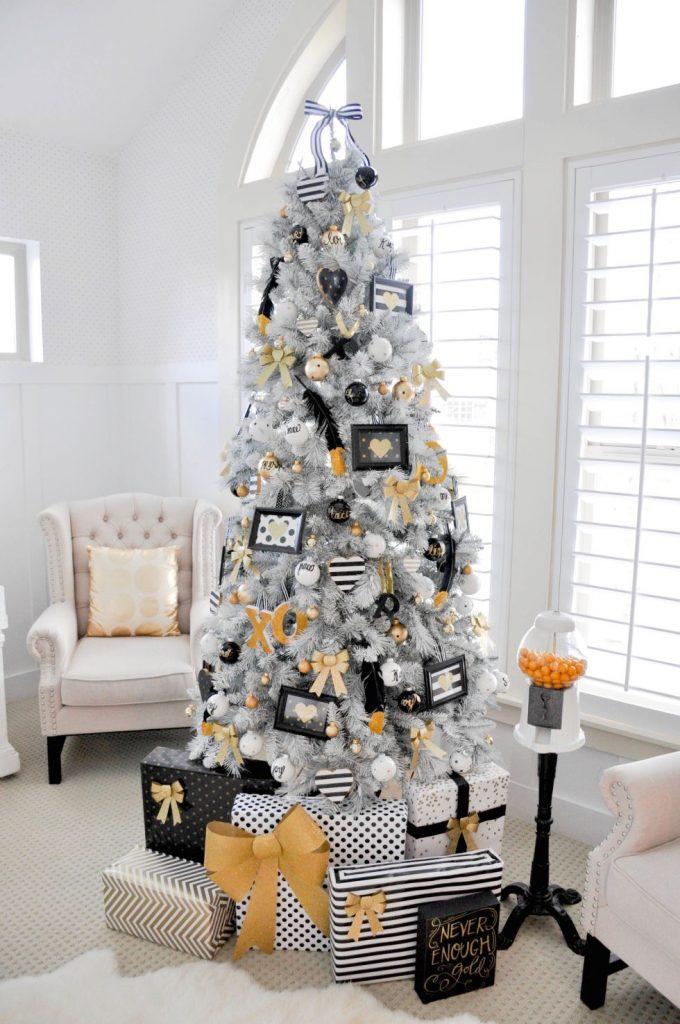 Super tall Christmas tree
