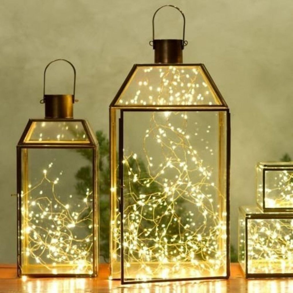 Bright Christmas lantern
