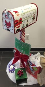 Christmas mailbox letters to Santa