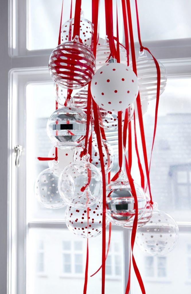 Decorative window for Christmas