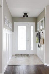 Bright entrance hall
