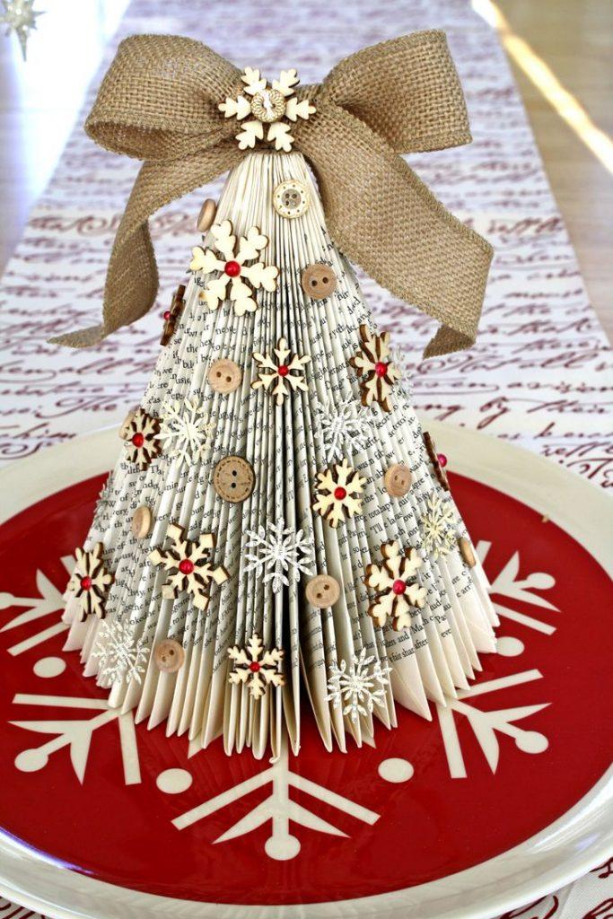 book tree for Christmas