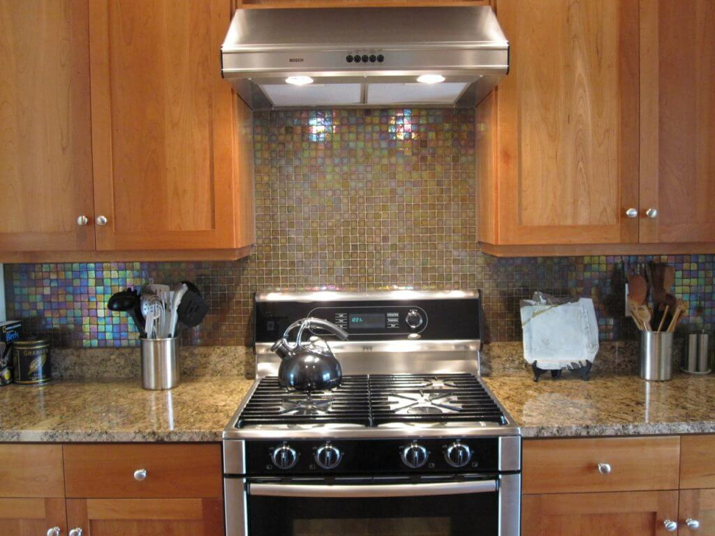 Granite and stainless steel