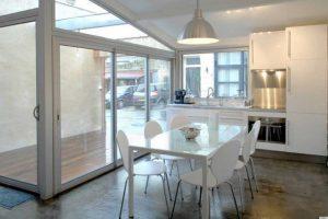 Charming kitchen in remodeled garage