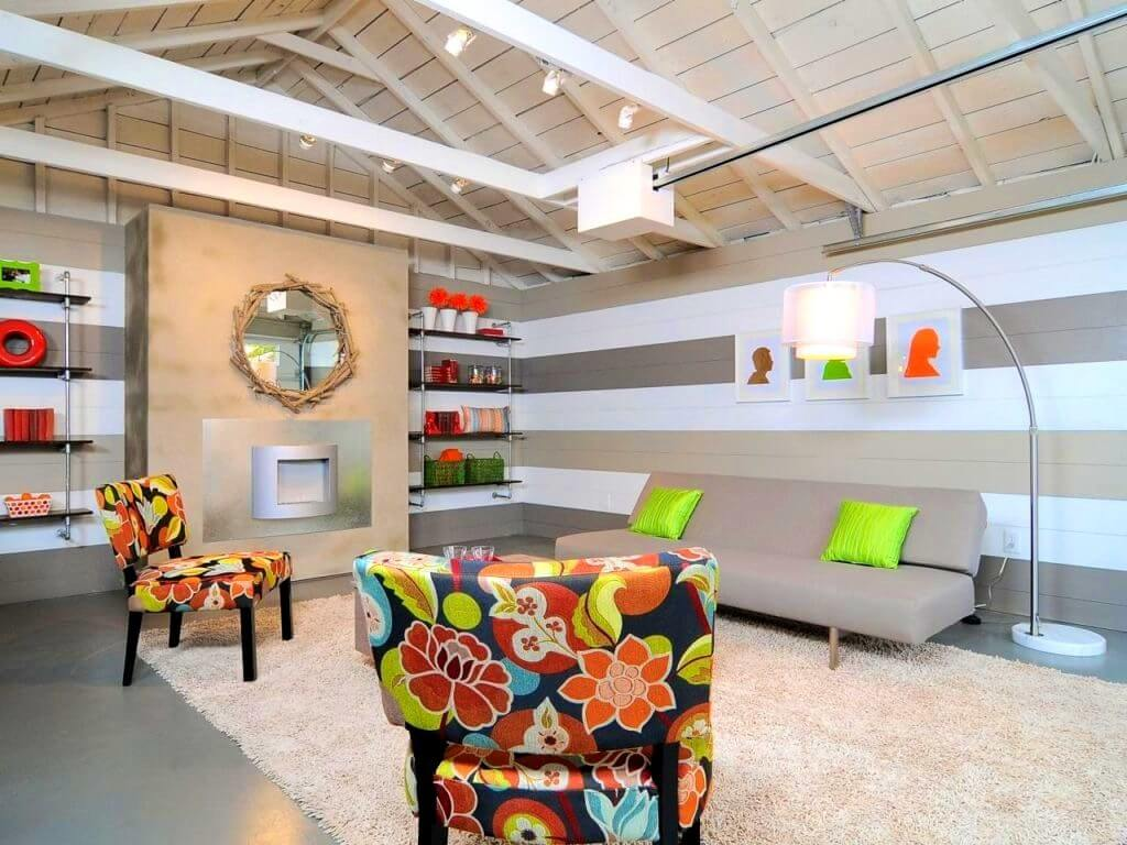 Decorative colorful chairs