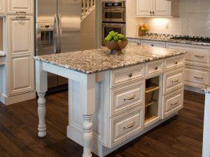 Granite kitchen worktop