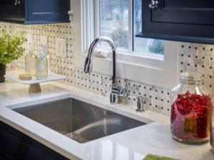trendy quartz kitchen