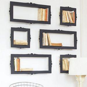 Baroque bookshelves