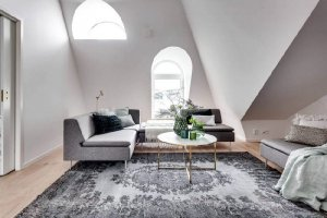 Designs of Scandinavian attic