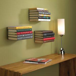 Invisibe bookshelf
