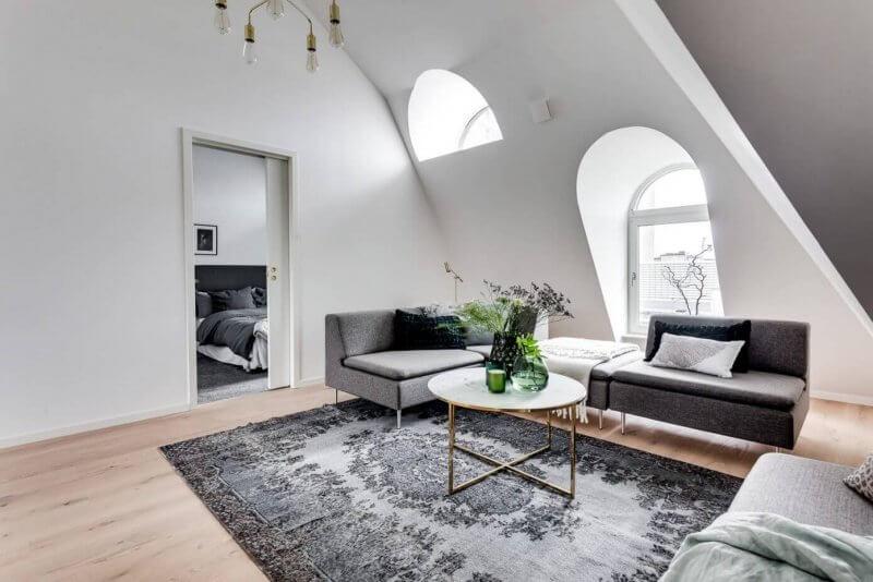 Scandinavian stile of livingroom
