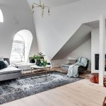 Small attic apartment in Stockholm