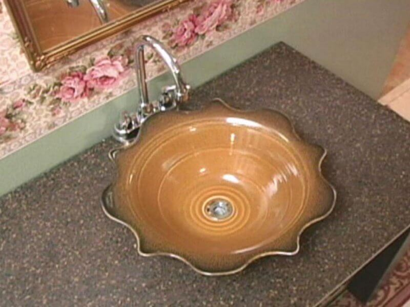 ceramic sink for modern bathroom