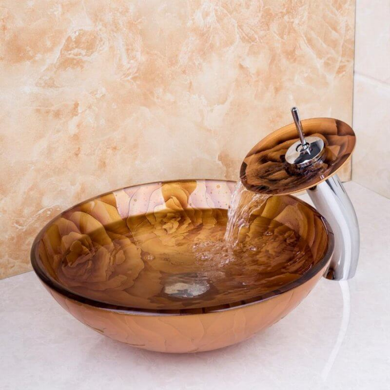 colorful prints for bathroom sinks