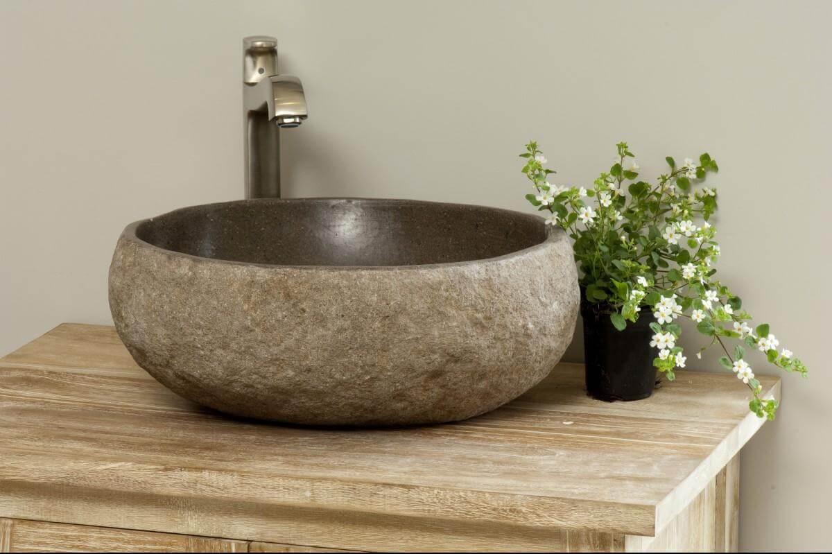 Natural Stone Sinks Bathroom