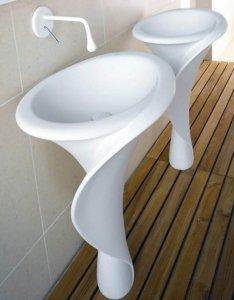 unique design of ceramic sink